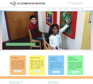 The Children's Dental Group homepage