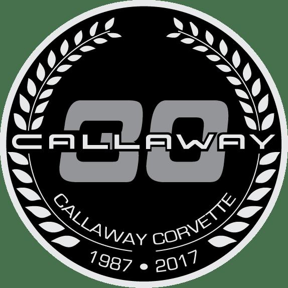 Callaway Corvette 30th Anniversary Logo Design
